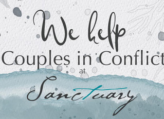 At Sanctuary, we help couples in conflict