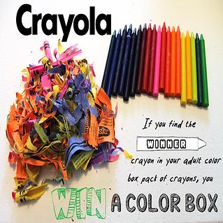 win a free color box