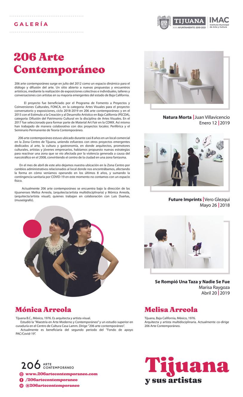 23 aniversario del IMAC | exposición en la Galería Urbana del Antiguo Palacio Municipal de Tijuana