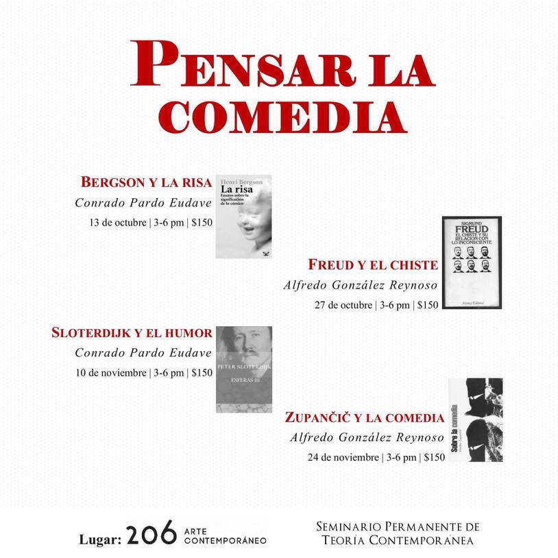 Taller Pensar la comedia por Seminario Permanente de Teoría Contemporánea en 206 arte contemporáneo.