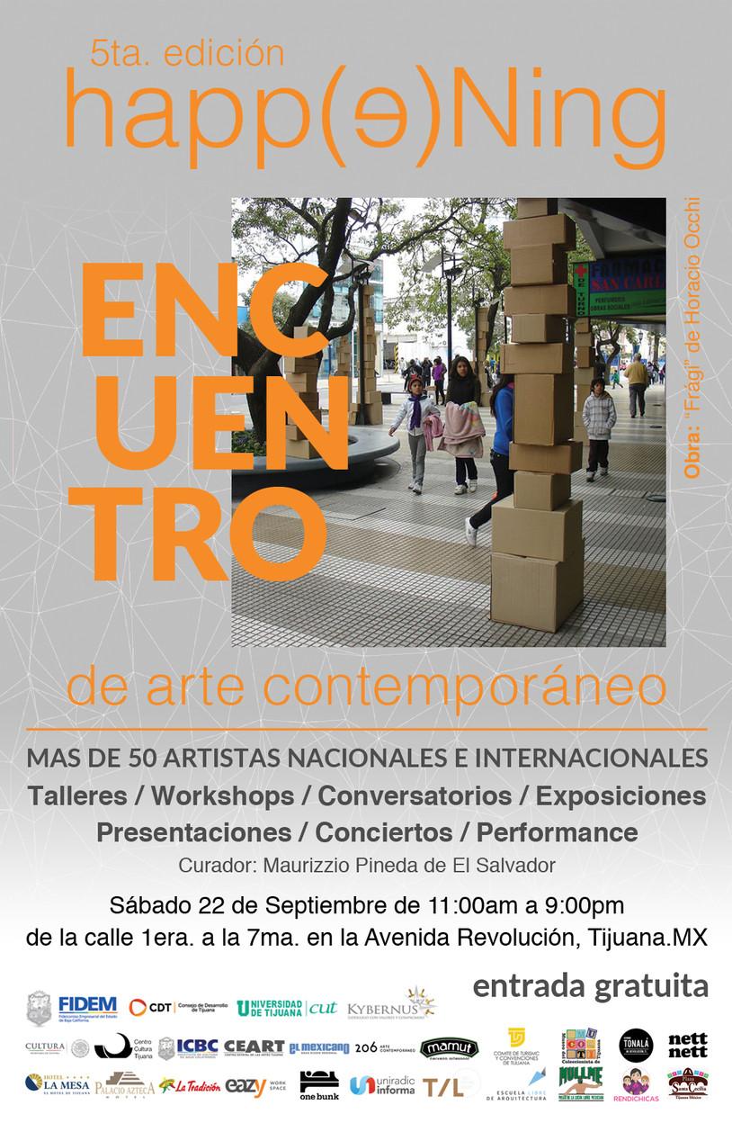 5ta. Edición Happening Encuentro.