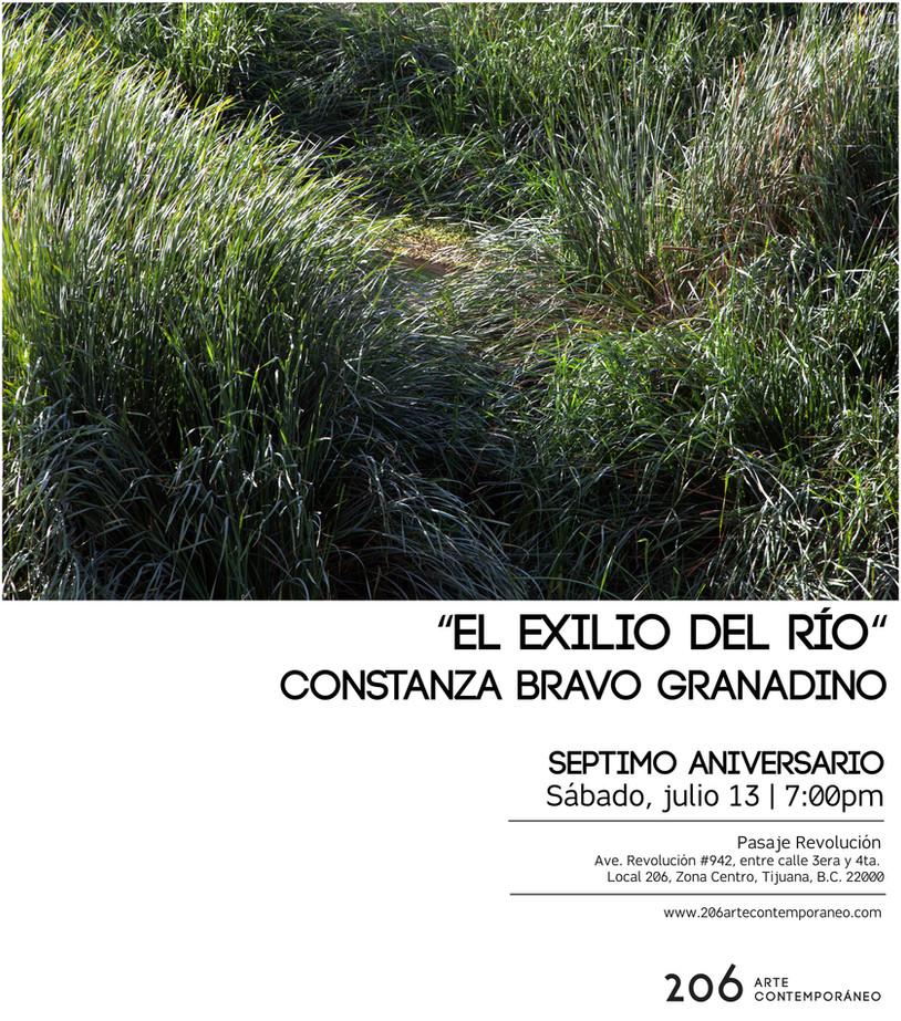 Constanza Bravo Granadino | 13 de julio | 7:00pm en 206 arte contemporáneo