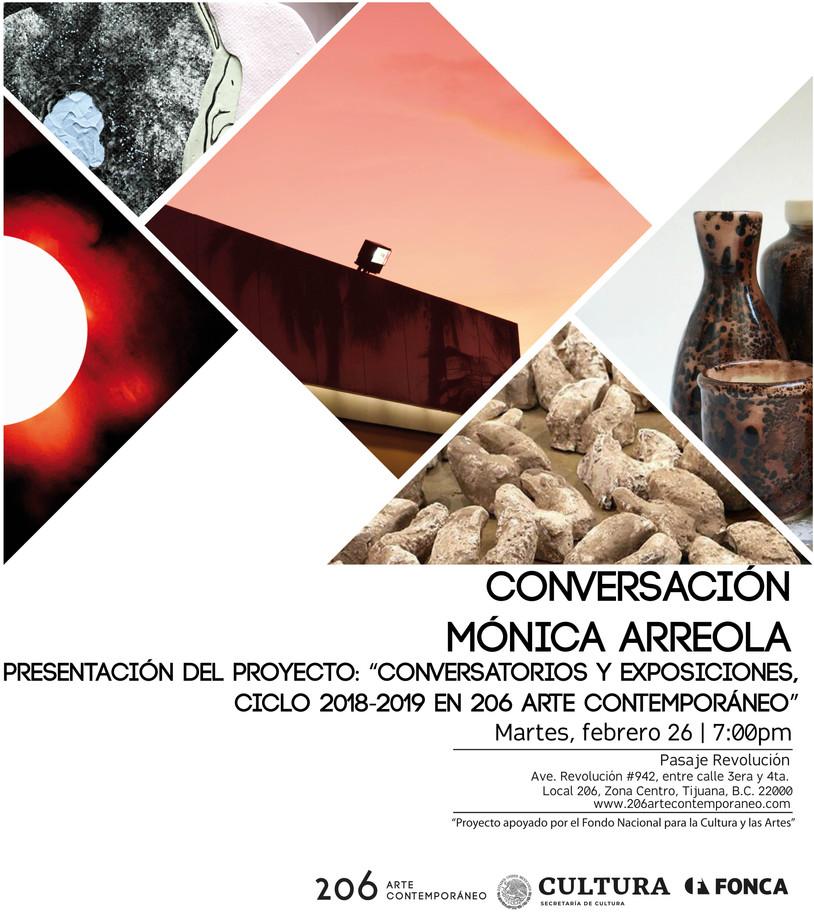 """Presentación del proyecto: """"Conversatorios y exposiciones, ciclo 2018-2019 en 206 arte contemporáneo"""