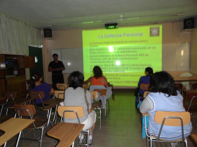 Capacitacion aula TEC