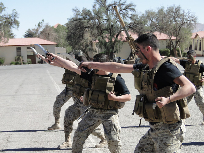 Curso armas blancas ejercito