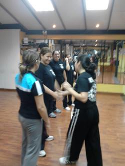Primera clase de KM Woman 2011