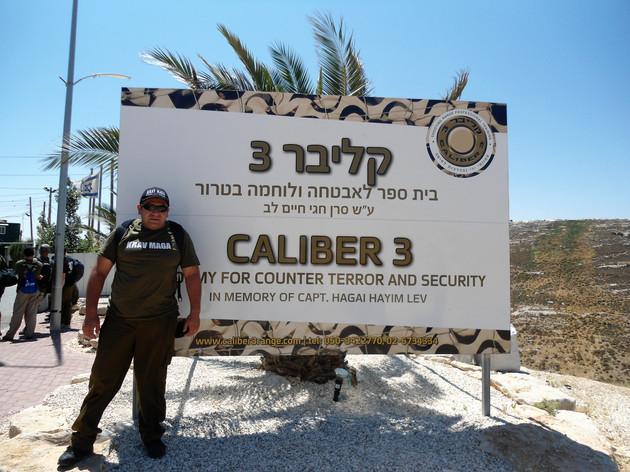 Israel. calibre 3 Curso anti terror