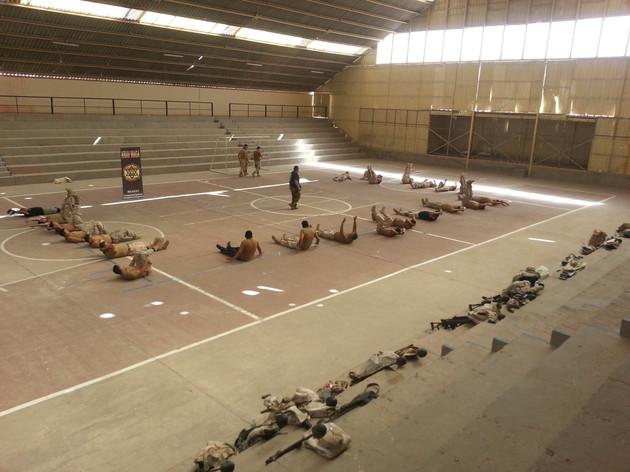 Curso soldados tropa ejército