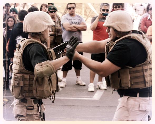 Curso ejército interactuar con civiles