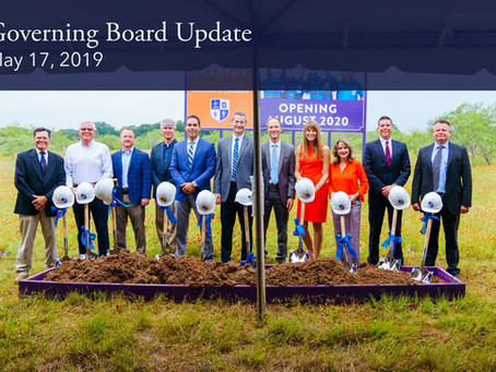Governing Board Update: 5.17.19 Meeting