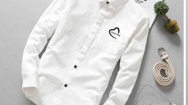 Quality B Human shirt white
