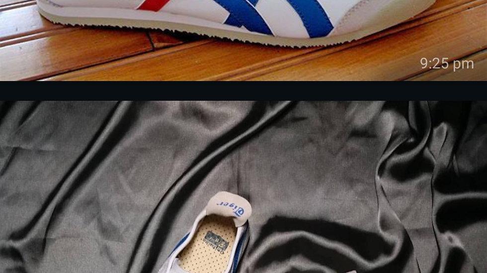 Onitsuka Tiger white n blue