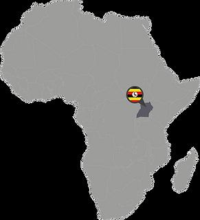 Carte du Ouganda