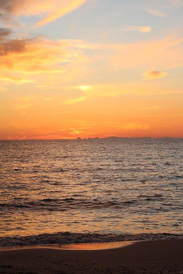 Cala Tarida sunset