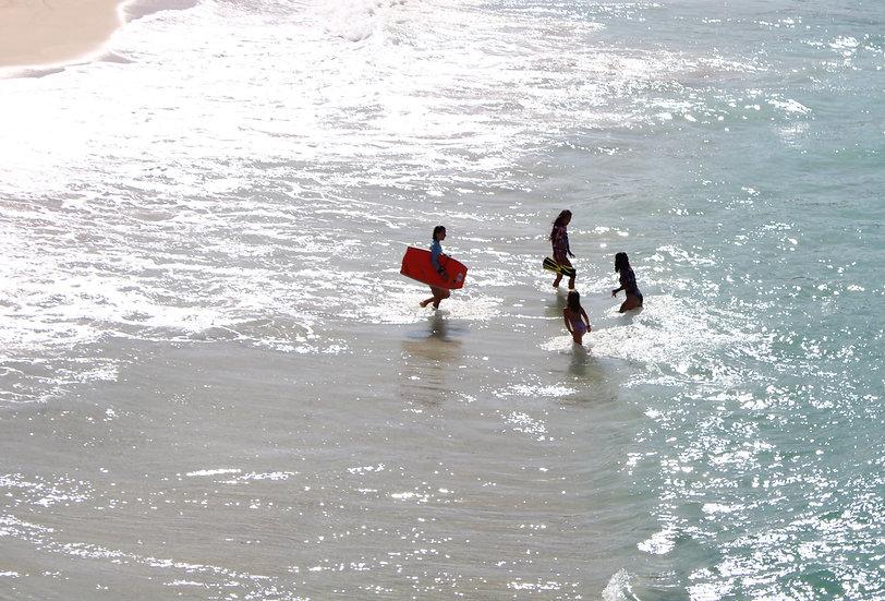 Ibiza surfers