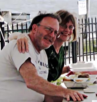 Martha Jane Tebbenkamp and Bill Reinert