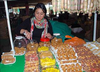 Mercado campesino en San Agustín