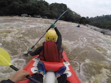 Rafting por el río Magdalena