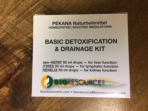 PEKANA Basic Detox & Drainage Kit
