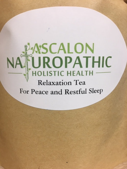 Relaxation Tea for Peace & Restful Sleep