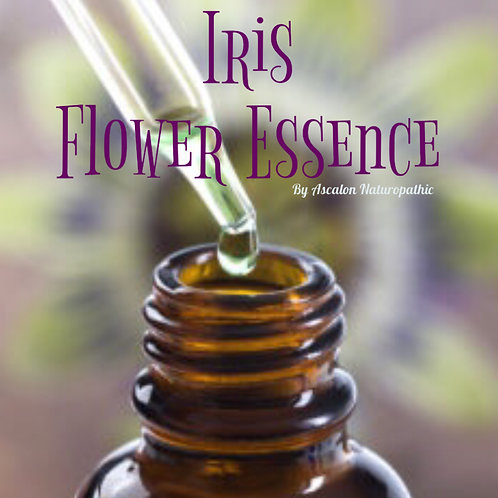 Iris Flower Essence - Soul Vitality and EMF Protection