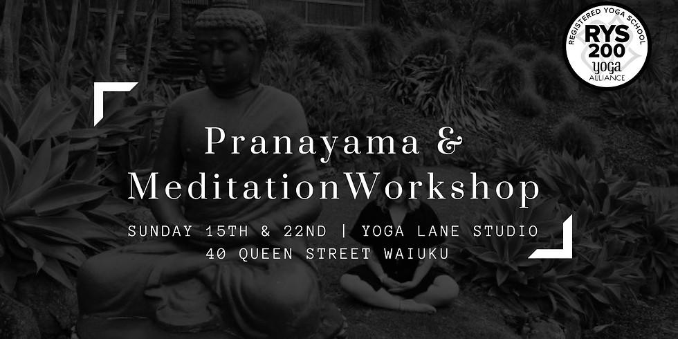 Pranayama & Meditation Workshop