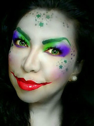 #SexyJoker #ggsfacepainting #GiosArtKrea
