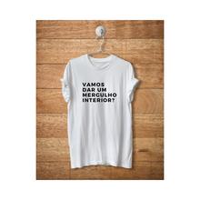Camiseta mergulho interior + Doação