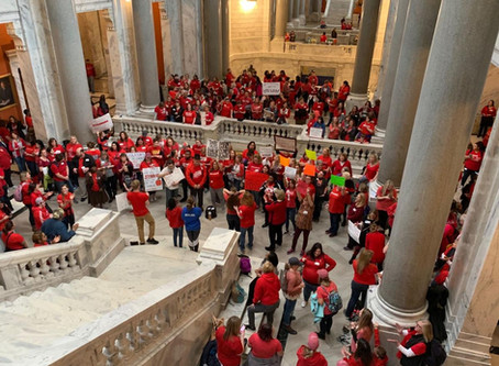 Kentucky Labor Cabinet reverses stance that 1,074 teachers broke law with 'sick outs'