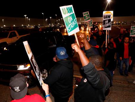 UAW hits GM with nationwide strike
