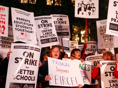 As the Strike Approached in Chicago, Teachers Taught Labor