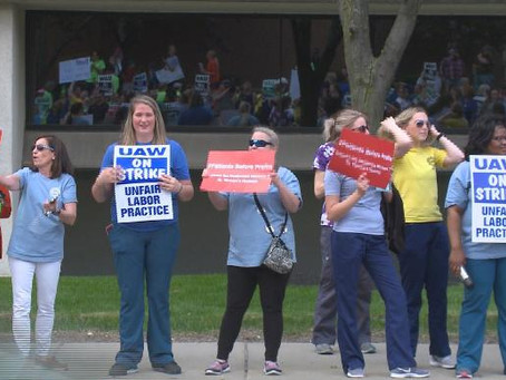 Union representing Mercy Health St. Vincent Hospital nurses, support staff goes on strike