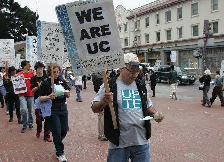 Major labor union alleges UC is intimidating members, sabotaging strike