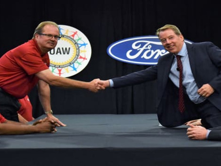 United Auto Workers union approves new labor deal with Ford