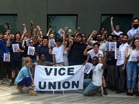 The Labor Movement Comes to Virtual Reality: Unionizing Digital Media