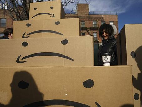 Labor unions back strikes, boycotts targeting Amazon 'Prime Day'