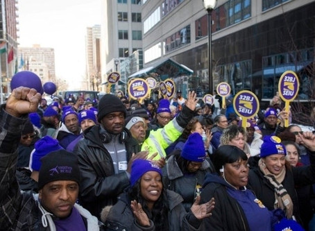 Worker Protest At Newark Airport Is Inspired By MLK, Union Says