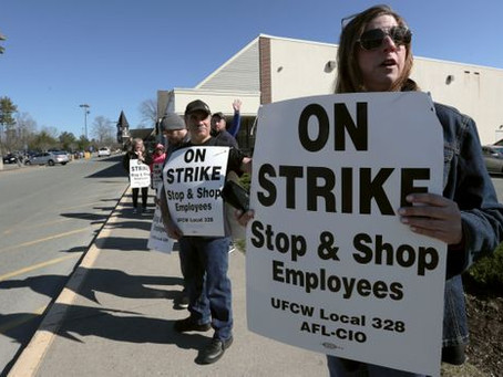 Thousands of Stop & Shop workers on strike in Massachusetts, Rhode Island and Connecticut