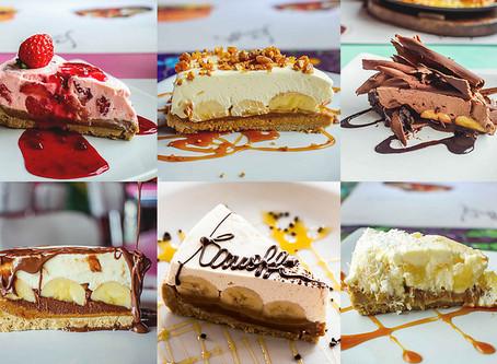 Festival de Banoffi com Morango, Abacaxi, Chocolate e mais!