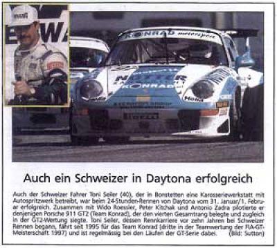 P1 24h Daytona '98
