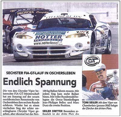 P3 Oschersleben'99