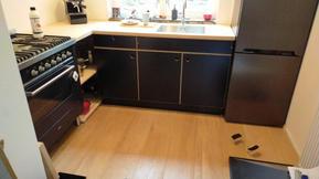 eind resultaat nieuwe keuken