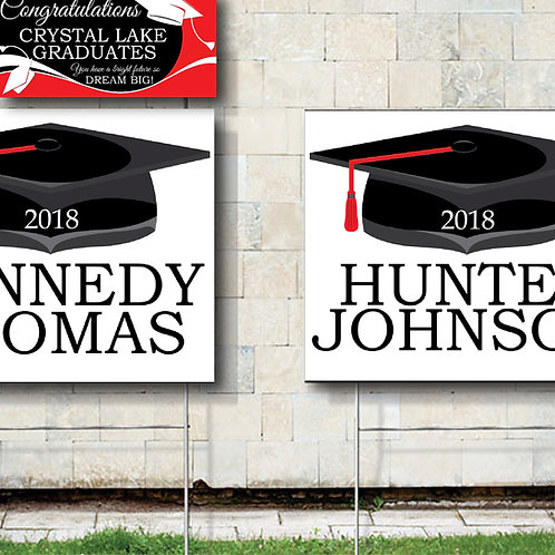 Crystal Lake Graduates | Design & Print