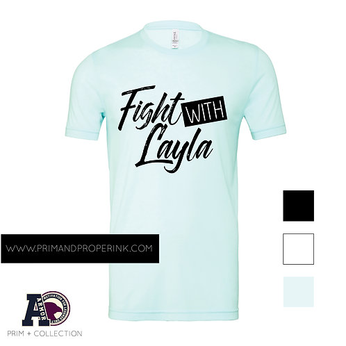 FIGHT WITH LAYLA | ARMOR TEE BY PRIM