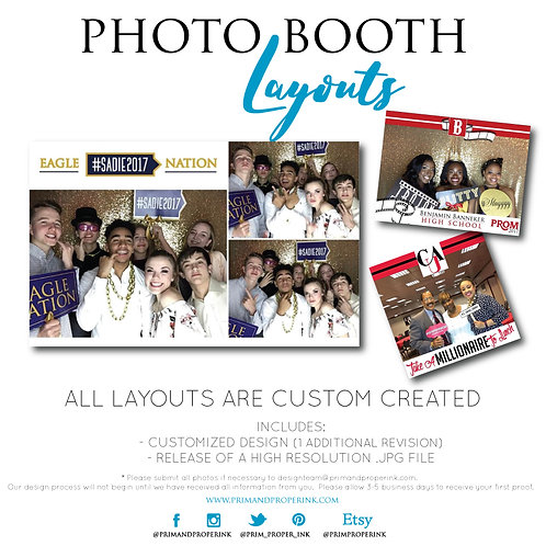 PHOTO BOOTH LAYOUT