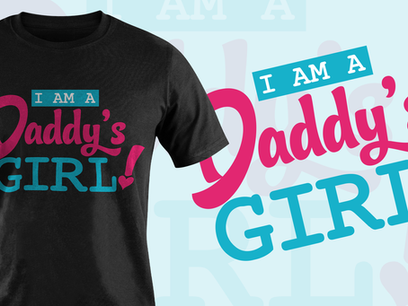 Signature Tee by I Am A Daddy's Girl!™