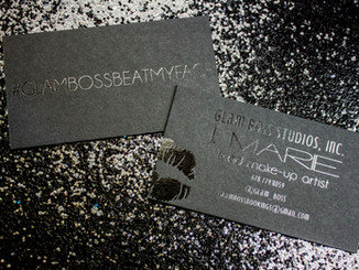 ALL BLACK BUSINESS CARDS