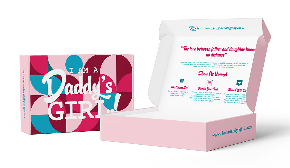 I'm a daddy's girl products