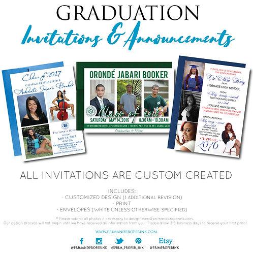 Graduation Invitations & Announcements