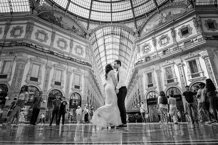 Matrimonio vip a Milano